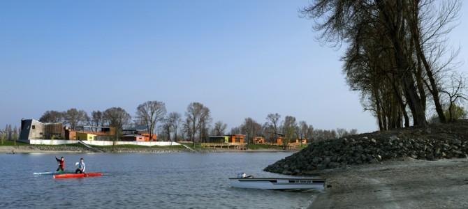 14 pavilions of Kopaszi dam - Budapest