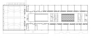 második emelet alaprajz