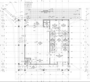 új épület, alaprajz