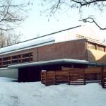 A Premontrei Gimnázium tornacsarnoka – Gödöllő
