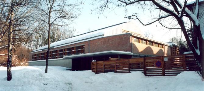 A Premontrei Gimnázium tornacsarnoka - Gödöllő
