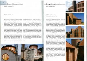 Evagélikus gimnázium, Aszód - in Téglaépítészet