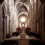 A bazilika belső felújítása – Pannonhalma