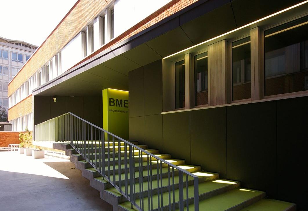 BME Sportközpont - Budapest - Hazai középületek 5d5c21ef60