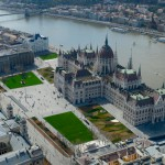 Reconstruction of Kossuth square, New Visitors' Centre – Budapest