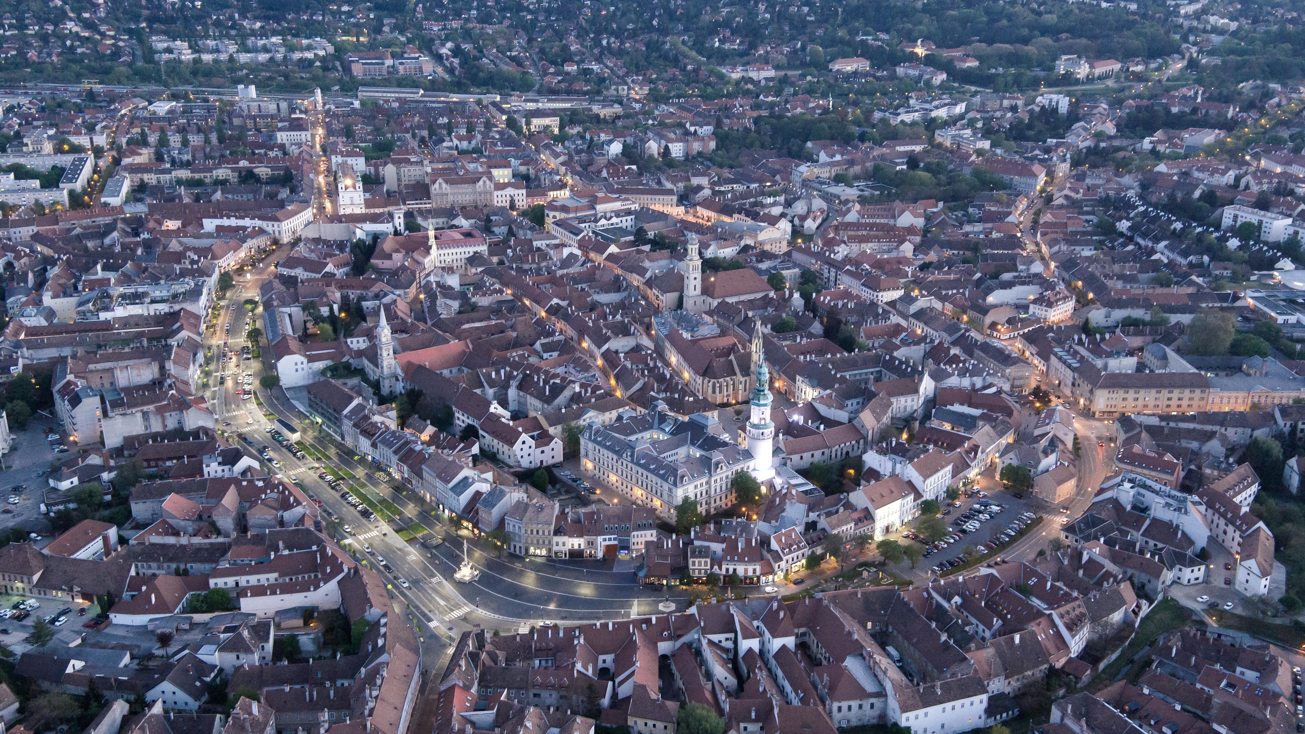 rehabilitation of castle district - sopron - hungarian architecture